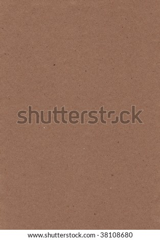 A vertical view of brown kraft paper