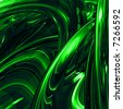 A vibrant green abstract background illustration. - stock photo