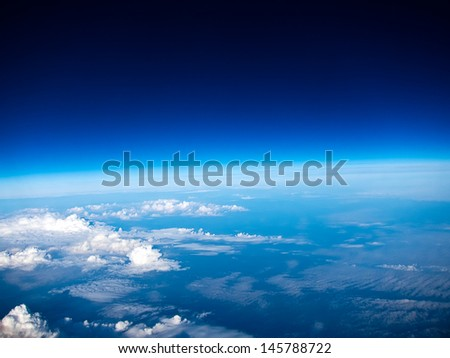 A view from heaven - stock photo
