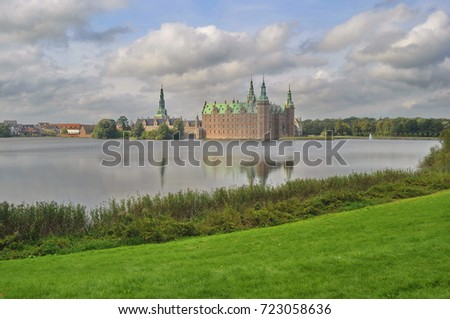 A View of Frederiksborg Castle, Denmark