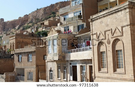 A view of Mardin, Turkey.