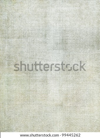 A vintage cloth book cover with a screen pattern and grunge background textures.  Image has very subtle green and brown tones. - stock photo