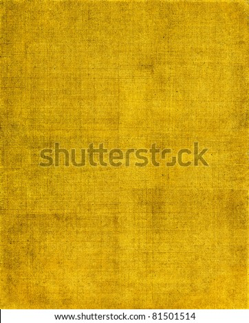 A vintage cloth book cover with a yellow-brown screen pattern and grunge background textures.  See my portfolio for other versions of this background. - stock photo