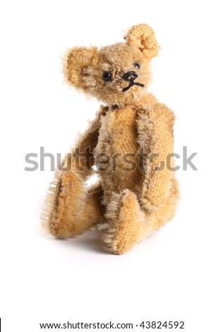 A vintage Teddy Bear - stock photo