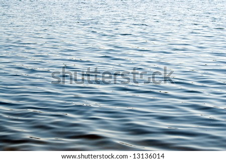 A water background with gentle waves