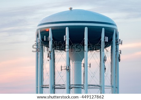 Old Water Tower Stock Images Royalty Free Images