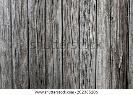 a weathered wood surface with lots of character - stock photo