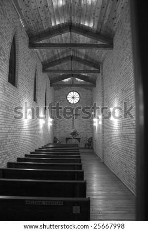 A Wedding Chapel - stock photo