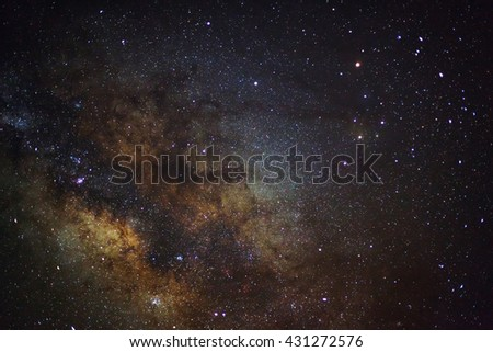 A wide angle view of the Antares Region of the Milky Way