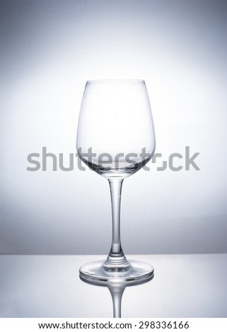 A wine glass of drink. - stock photo