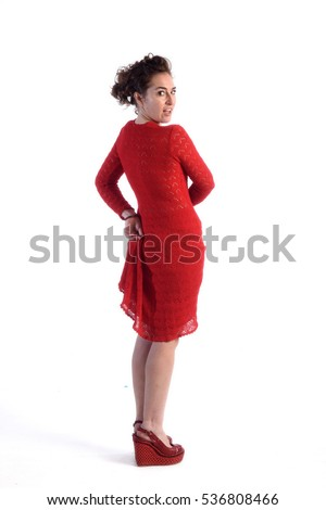 Woman Lifting Skirt Stock Images Royalty Free Images