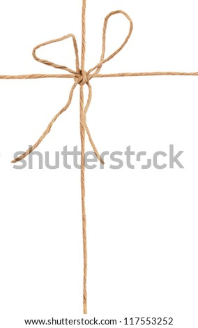A wrapping knot symbolic