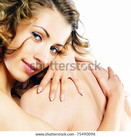 a young sexy couple - stock photo