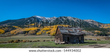 Creepy haunted room old abandoned hotel stock photo for Cabins near crested butte co