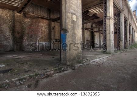 Abandoned House - stock photo