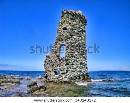 Abandoned tower                  - stock photo