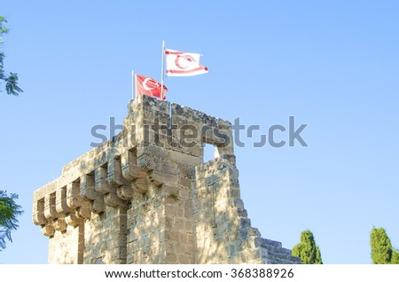 Abbey of Bella Pais in northern Cyprus