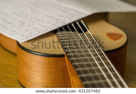About songwriting passion