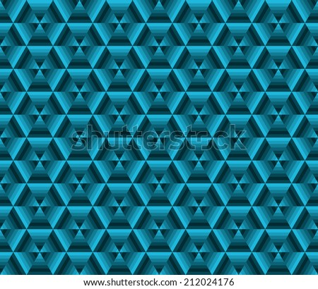 Abstrack color background, blue triangles (Vector version is also available in my portfolio, ID 188398157) - stock photo