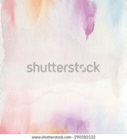 Abstract acrylic and watercolor painted background. Texture paper . - stock photo
