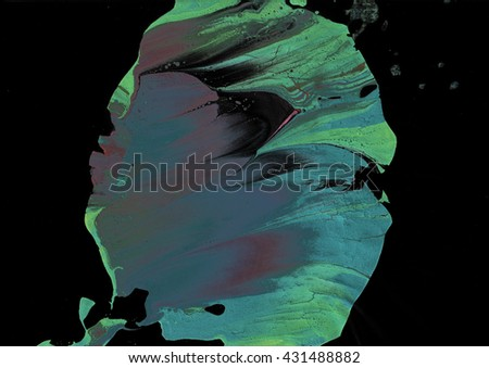 abstract  acrylic grunge background