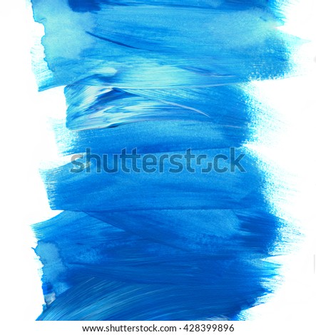 Abstract acrylic grunge texture, background. Hand paint brush texture, acrylic textured backdrop. Dynamic Brush Stroke. Art Abstract Space for Text - stock photo