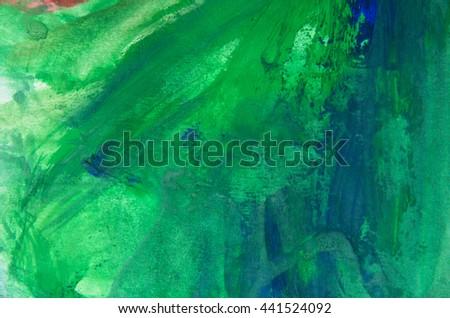 Abstract acrylic paint background with texture - stock photo