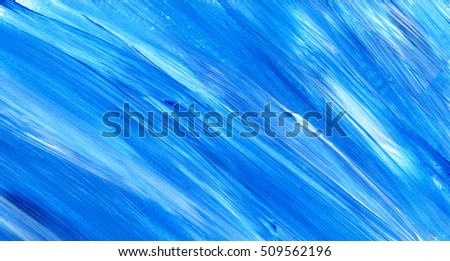 Abstract acrylic texture background. Hand paint brush texture, acrylic textured backdrop. Dynamic Brush Stroke.