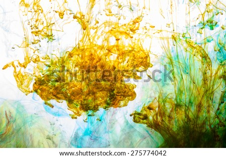 Abstract and very colorful motion blur background - stock photo
