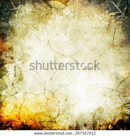 Abstract apocalypse background texture for your design - stock photo
