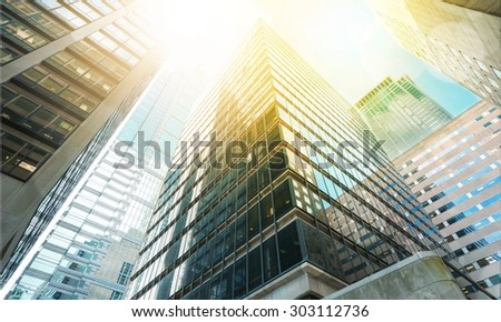 Abstract, architecture, building. - stock photo
