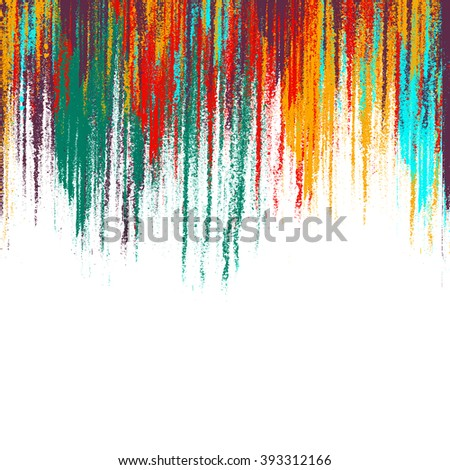 Abstract art background. Oil painting on canvas. Multicolor light and bright texture. Fragment of artwork. Spots of oil paint. Brushstrokes of paint. Modern art. Contemporary art. - stock photo