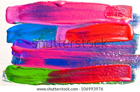 Abstract art backgrounds. Hand-painted background. SELF MADE. See more in my portfolio - stock photo