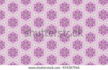 Abstract art classic luxury and elegant style pattern background in popular modern design trend 2016 for printing on card paper fabric poster carpet and book cover, Raster type in pink tone