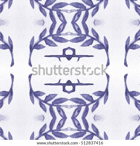 Abstract art classic luxury and elegant style pattern background in popular modern flower design trend 2016 for print on card paper fabric poster carpet and book cover, Raster type in colorful tone