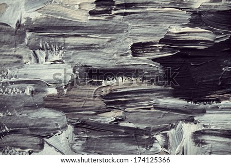 abstract art original oil painting background - stock photo