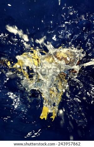 abstract art - Still Life - water - stock photo