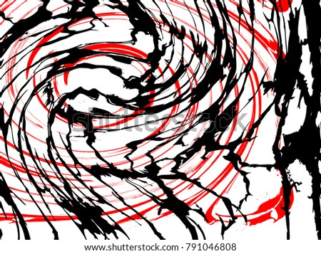 Curved Line Design Art : Abstract art texture colorful modern stock illustration