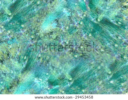 Abstract artistic background design of random shapes and patterns.