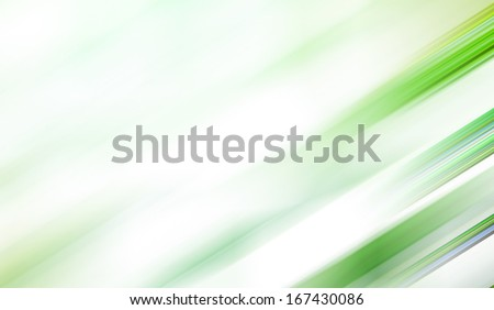 Abstract artistic background texture with vibrant light green cover of bog and mystery ecosystem, natural bright spring soft colors, futuristic tranquility illustration in motion blur shift tilt lines - stock photo