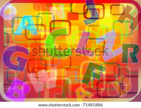 abstract baby background