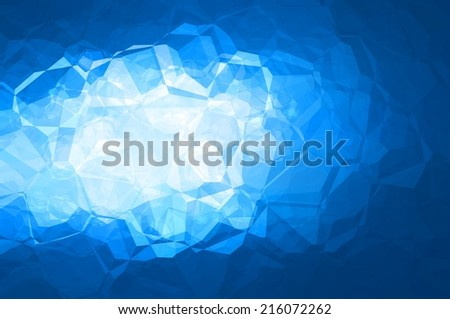 abstract background. Abstract blue background with lines - stock photo