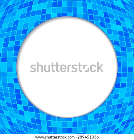 Abstract background advertising brochure design elements. Glowing light mosaic graphic form for elegant flyer. Gorgeous graphic ilustration for booklet layout page, leaflet template, vertical banner - stock photo