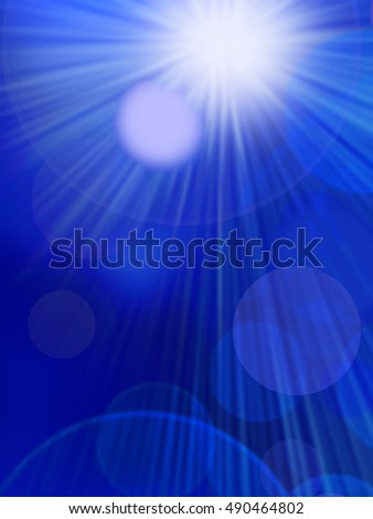 Abstract background, beautiful shiny lights, glowing magic .