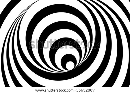 Abstract background, black and white - stock photo