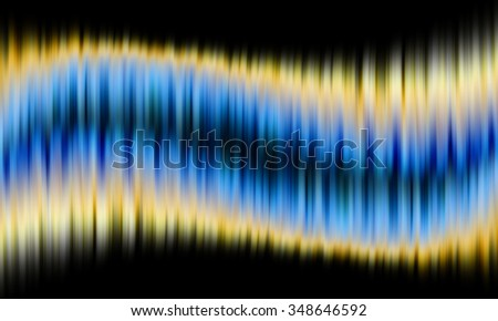 Abstract background , Blue and Gold wave background