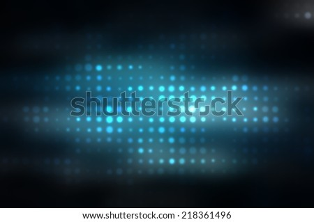 abstract background. blue background with squares and circles