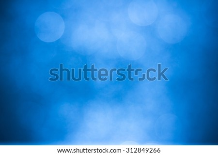 abstract background blue bokeh circles for background - stock photo