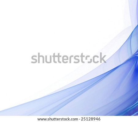 Abstract background. blue palette. raster fractal graphics.