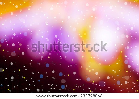 abstract background bokeh christmas lights